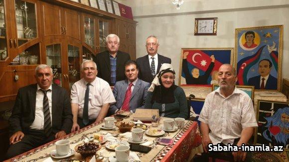 Sumqayıtda təkəlduz ustası, I qrup əlili ziyarət ediblər-VİDEO